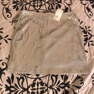 Sequin skirt (colorful)